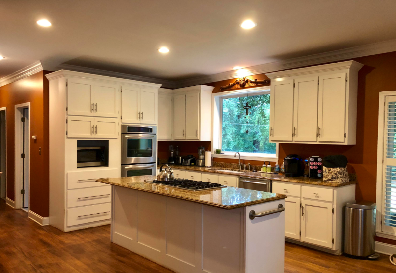 gourmet kitchen in a new albany home