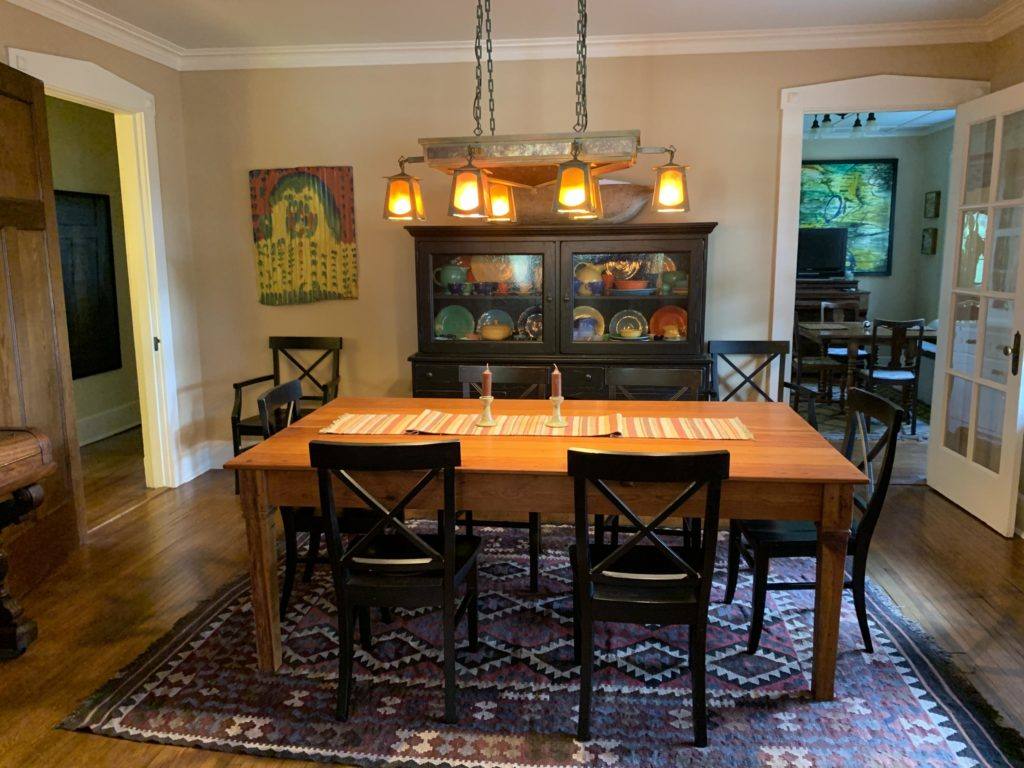 412 E Bankhead Street dining room