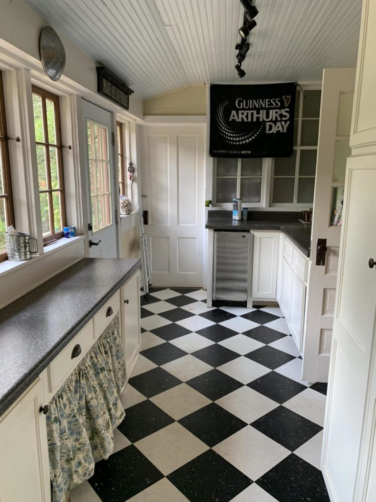 Mudroom and pantry